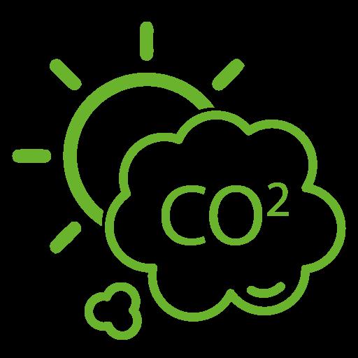 Solare termico impatto sull'ambiente e rispamio di CO2